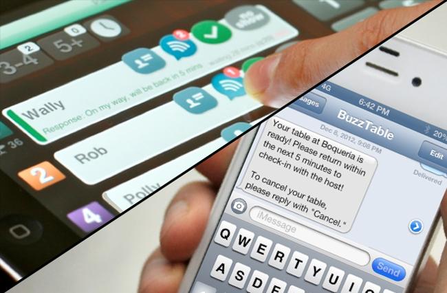 Restaurant Wait List Ipad App Cost Saving Paging System